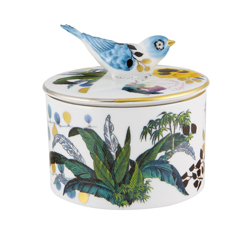 Vista Alegre Porcelain Primavera Decorative Box Carriça By Christian Lacroix