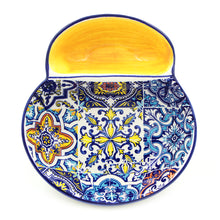 Load image into Gallery viewer, Hand-painted Portuguese Ceramic Olive Dish