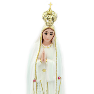 "9.5"" Our Lady Of Fatima Statue Virgin Mary Religious Statue #1033"