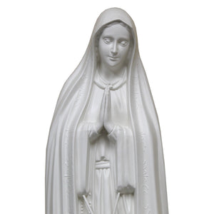 40 Inch Outdoor Garden Our Lady Of Fatima Statue Made in Portugal Figurine 1038R