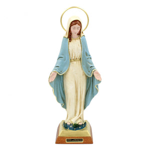 "12"" Hand-painted Our Lady of Graces Religious Figurine Statue"