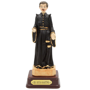 "5"" Inch Hand Painted Dr Sousa Martins Religious Statue #13103"