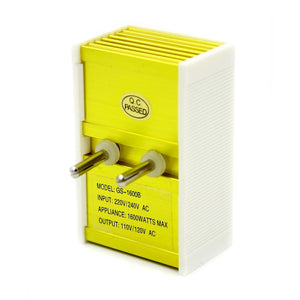 1600W Watt 220 To 110 Volt Travel Power Voltage Converter Transformer Step Down /