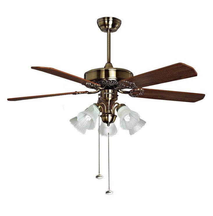 Topow 52YFA-1010 52 Inch Ceiling Fan 220-230 Volts 50Hz Export Only