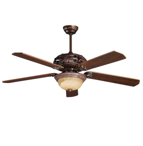 Topow 52YOF-3018 52 Inch Ceiling Fan With Remote Control 220-230 Volts 50Hz Export Only