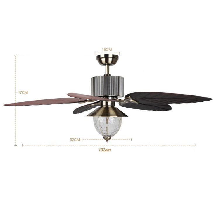 Topow 52yft 1098 52 Inch Ceiling Fan With Remote Control