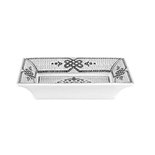 Load image into Gallery viewer, Vista Alegre Porcelain Portuguese Cobblestone Rectangular Tray