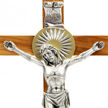 "Load image into Gallery viewer, 12"" Wooden Wall Crucifix Jesus Christ Cross"