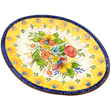 Load image into Gallery viewer, Hand-painted Portuguese Pottery Clay Terracotta Serving Platter