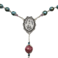 Load image into Gallery viewer, Handmade in Portugal Bohemian Glass Beads Our Lady of Fatima Rosary