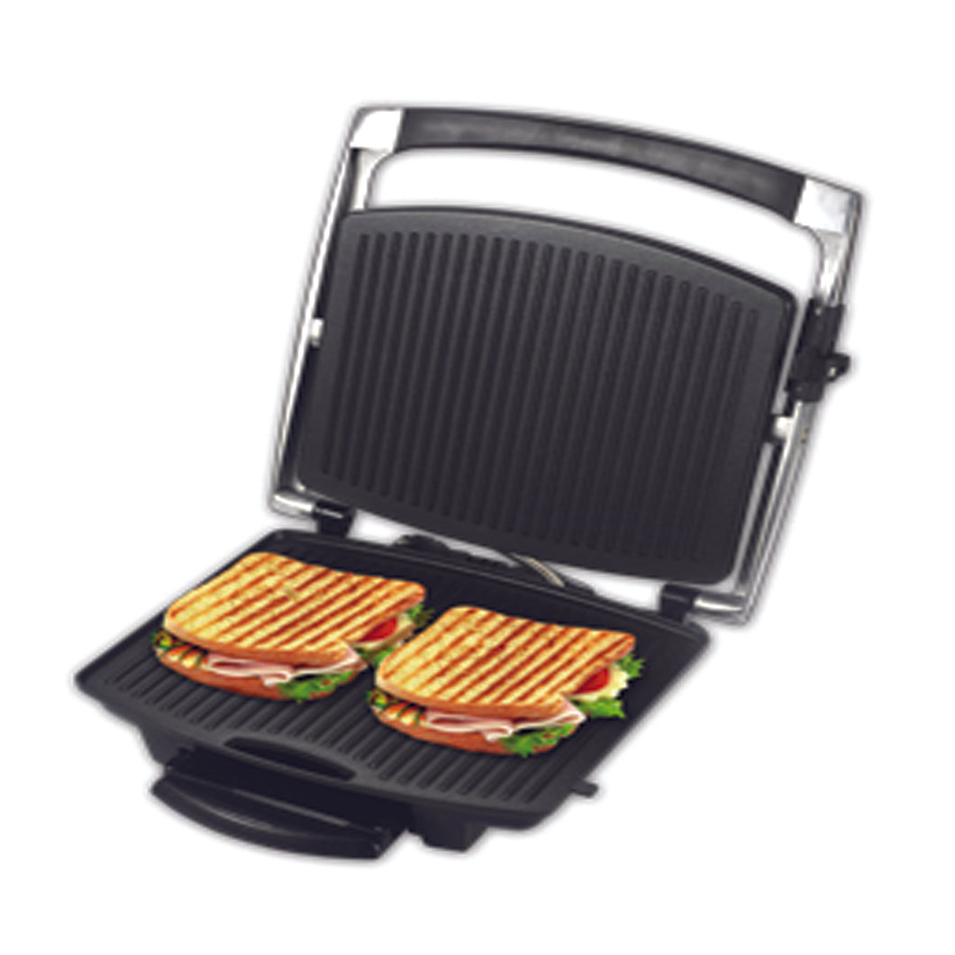 Alpina SF-6021 Panini Press Non Stick Gourmet 4 Sandwich Maker 220-240 Volts 50/60Hz Export Only