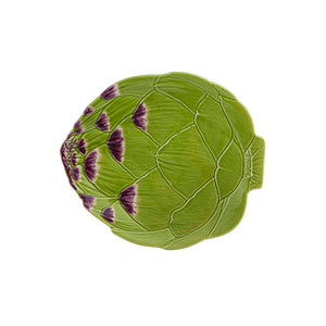 Bordallo Pinheiro Artichoke Dessert Plate 23,5 - Set of 2
