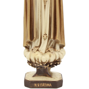 "12"" Inch Pilgrim Our Lady Of Fatima Statue Made in Portugal #661"