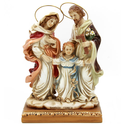 Holy Family Religious Statue Virgin Mary, Saint Joseph and Child Jesus #710