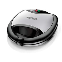 Load image into Gallery viewer, Black & Decker TS2080 750-Watt 2-Slice Sandwich Maker 220 Volts Export Only