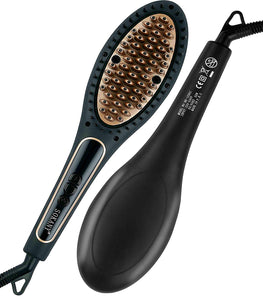 Sokany BR-1030I Iontec Hair Straightener Brush 220 Volts Export Only