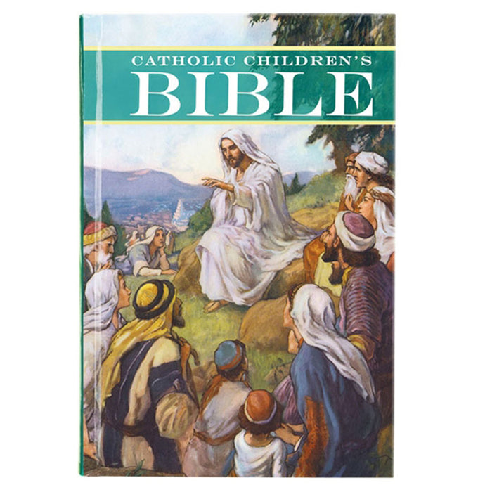 Christian Brands WC500 Catholic Children's Bible In English - Hardcover