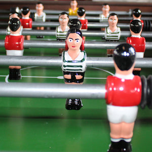 Portuguese Professional Wood Foosball Soccer Table Matraquilhos Home Edition