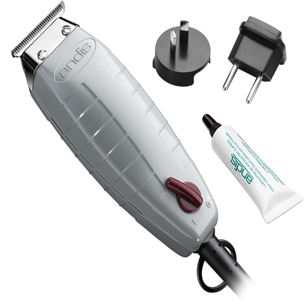 Andis 05105 T-Outliner Corded Trimmer Dual Voltage 110-240 Volts
