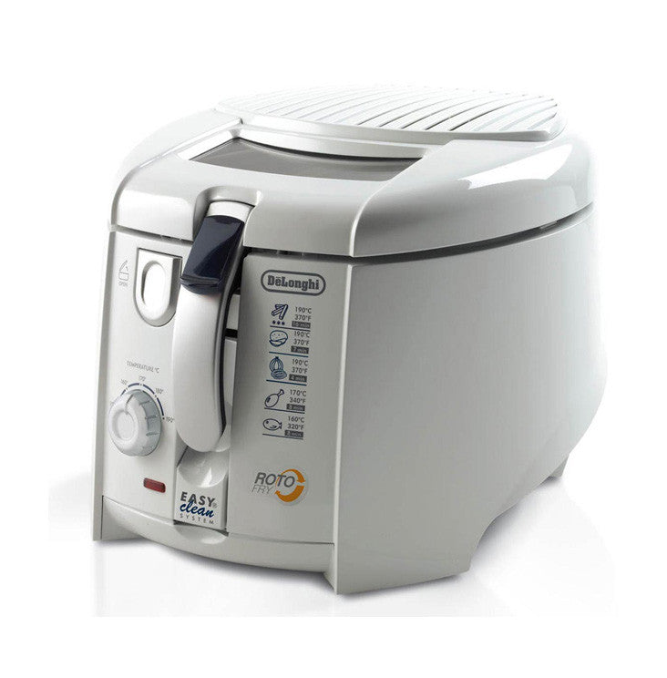 Delonghi Rotofry F28311 1800W Deep Fryer Easy Clean System 220-240 Volts 50/60Hz Export Only