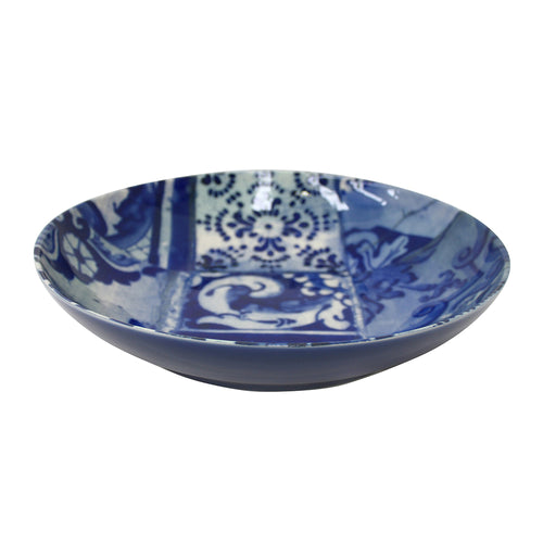 Costa Nova Lisboa Collection Stoneware Ceramic Pasta Salad Bowl