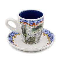 Load image into Gallery viewer, Portuguese Ceramic Espresso Cup Souvenir From Portugal