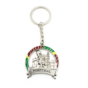 Portuguese Monuments and Symbols Metal Keychain #GS1708