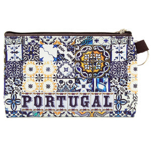 Traditional Portuguese Tiles Coin Holder With Keychain GS2690