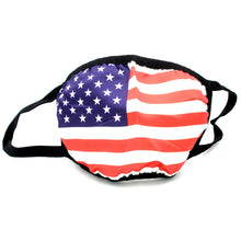 Load image into Gallery viewer, USA Flag Washable Reusable Face Mask