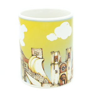 Portuguese Landmarks Ceramic Coffee Mug Souvenir From Portugal