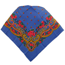Load image into Gallery viewer, Portuguese Folklore Regional Half Head Viana Scarf Shawl