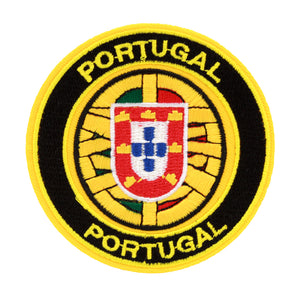 Portugal Embroidered Badges for Clothes