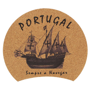 100% Natural Portuguese Cork Mouse Pad Made In Portugal