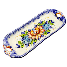 Hand Painted Traditional Portuguese Ceramic Decorative Platter