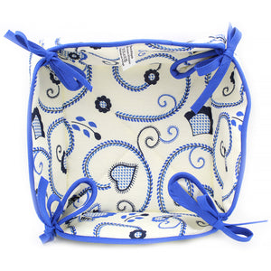 100% Cotton Bread Basket Made in Portugal - Various Colors