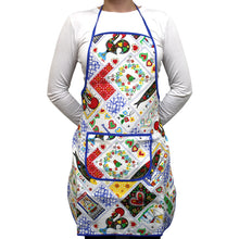 Load image into Gallery viewer, 100% Cotton Portuguese Tiles Kitchen Apron - Various Colors