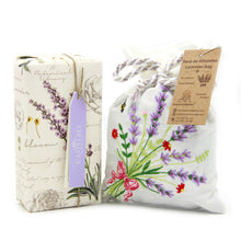 Lavender Soap and Bag Set Gift Box