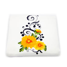 Load image into Gallery viewer, 100% Cotton Floral Decorative Embroidered Kitchen Dish Towels