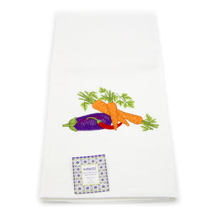 100% Cotton Decorative Embroidered Kitchen Dish Towels