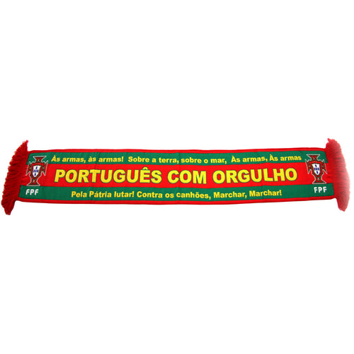 Portuguese Pride With National Anthem Official FPF Scarf