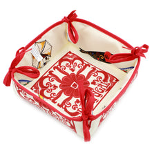 Load image into Gallery viewer, 100% Cotton Bread Basket Made in Portugal - Various Colors