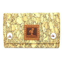 Load image into Gallery viewer, Key Wallet 100% Natural Portuguese Cork Made In Portugal
