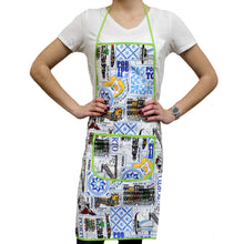 Load image into Gallery viewer, 100% Cotton Porto City Themed Kitchen Apron - Various Colors
