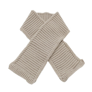 Minhon Light Brown Baby Beanie, Gloves & Scarf Winter Set Made in Portugal