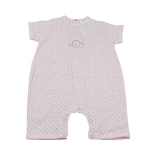 Minhon 100% Cotton Pink Baby Girl Short Sleeve Romper 6-12 Months