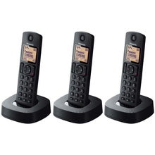 Load image into Gallery viewer, Panasonic KX-TGC323EB 3 Handsets Cordless Phone 220-240 Volts 50/60Hz Export Only