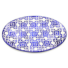 Hand-painted Traditional Portuguese Ceramic Large Serving Platter