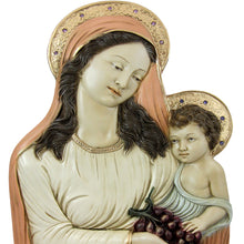 "Load image into Gallery viewer, 17"" Virgin Mary Mother With The Child Jesus Statue #615"