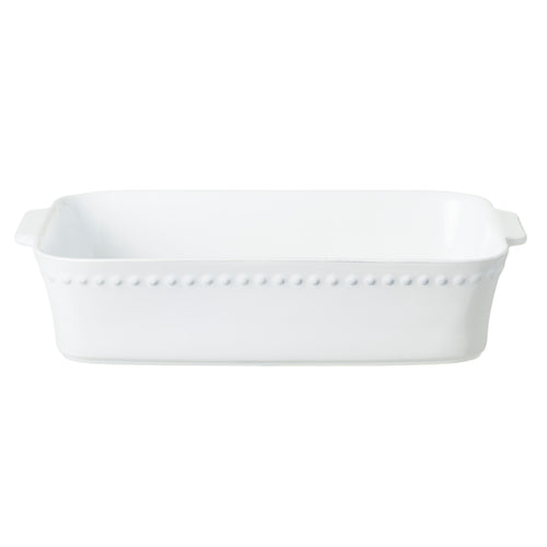 Costa Nova Pearl Collection Stoneware Ceramic Large Rectangular Baker
