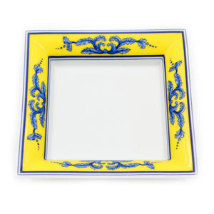 Vista Alegre Salina Porcelain Square Cascais Ashtray